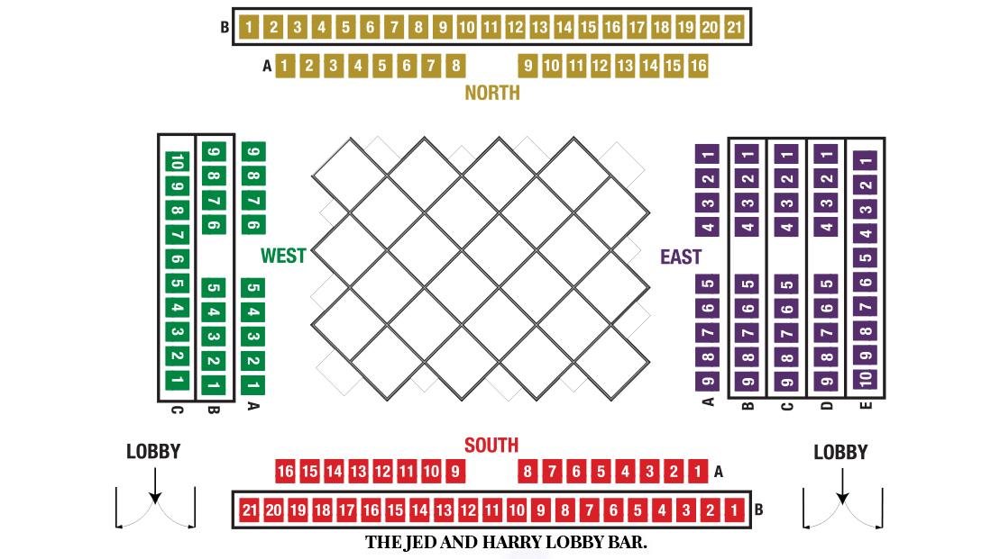 Players Circle Theater Seating Chart for Curious Incident of The Dog in Night-Time Theater Show