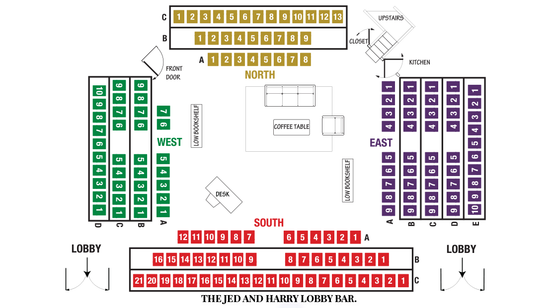 Players Circle Theater Seating Chart for The Lifespan of a Fact Theater Show